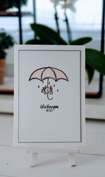 Glücksregen Schirm