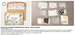Kartensortiment Magnolienweg