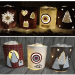 DIY Windlicht LED Advent Weihnachten Stampin Up
