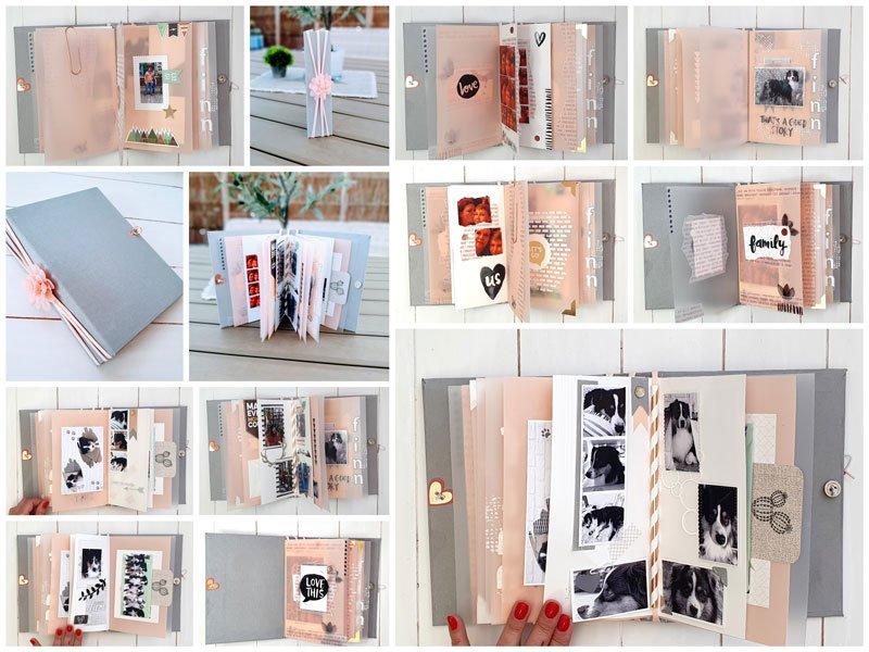Mini-album Collage