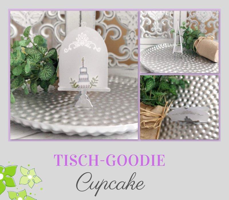 tisch-Goodie Cupcake