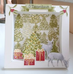 Tannenbaum Reh Hirsch Geschenke