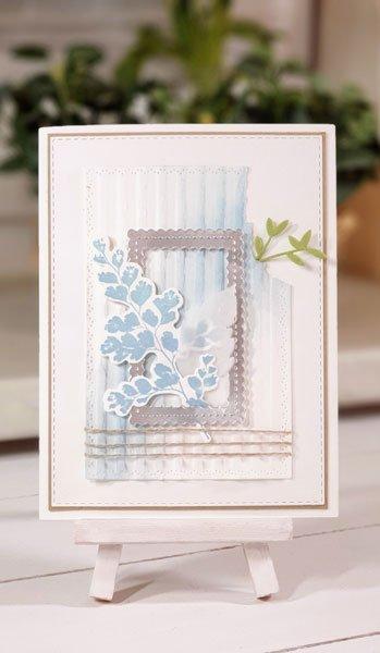 slider card wellenpapier