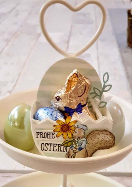 Osterkorb Etagere