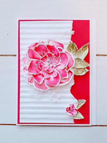 Colorieren Aquarell Floral