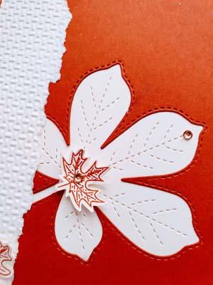 wunderbare Blätter terrakotta