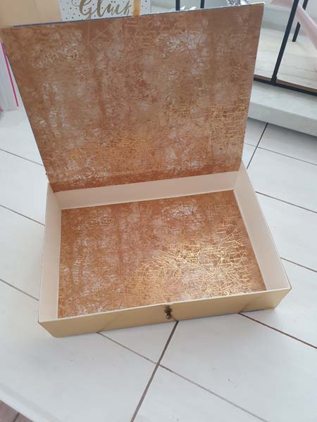 Maritime box weltkarte