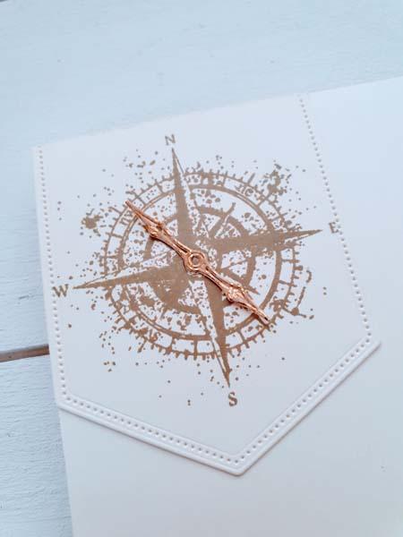 Geburtstagskarte maritim kreuz