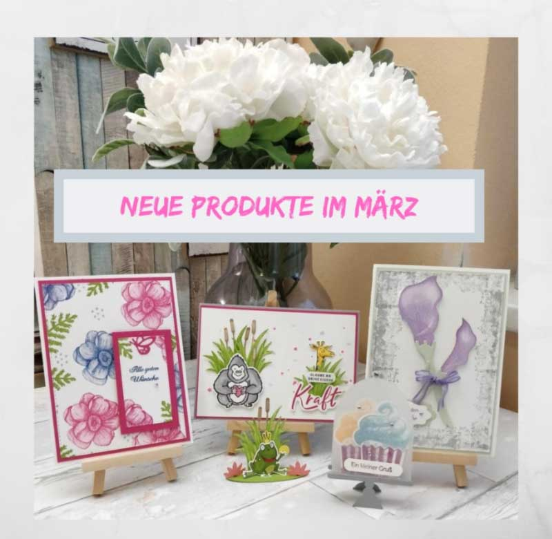 neue Produkte Stampin UP