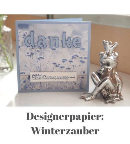 Designerpapier Winterzauber
