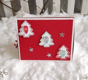 Weihnachtsbox Stampin UP