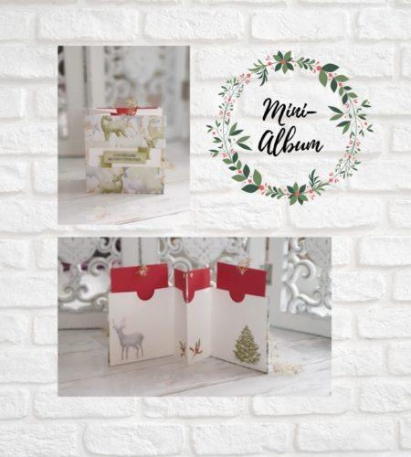 Mini- Album Zur Weihnachtszeit