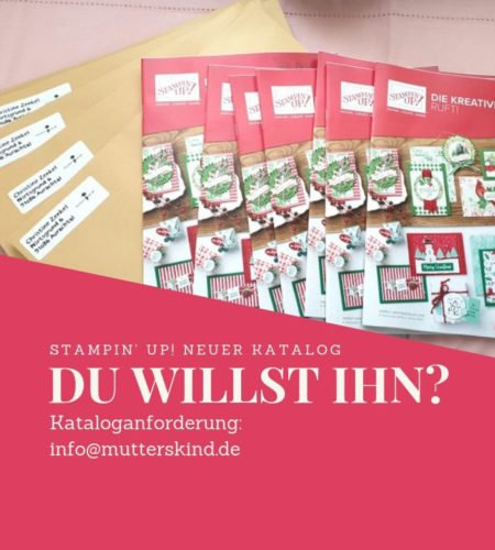 Herbst- Winterkatalog Stampin UP! 2019