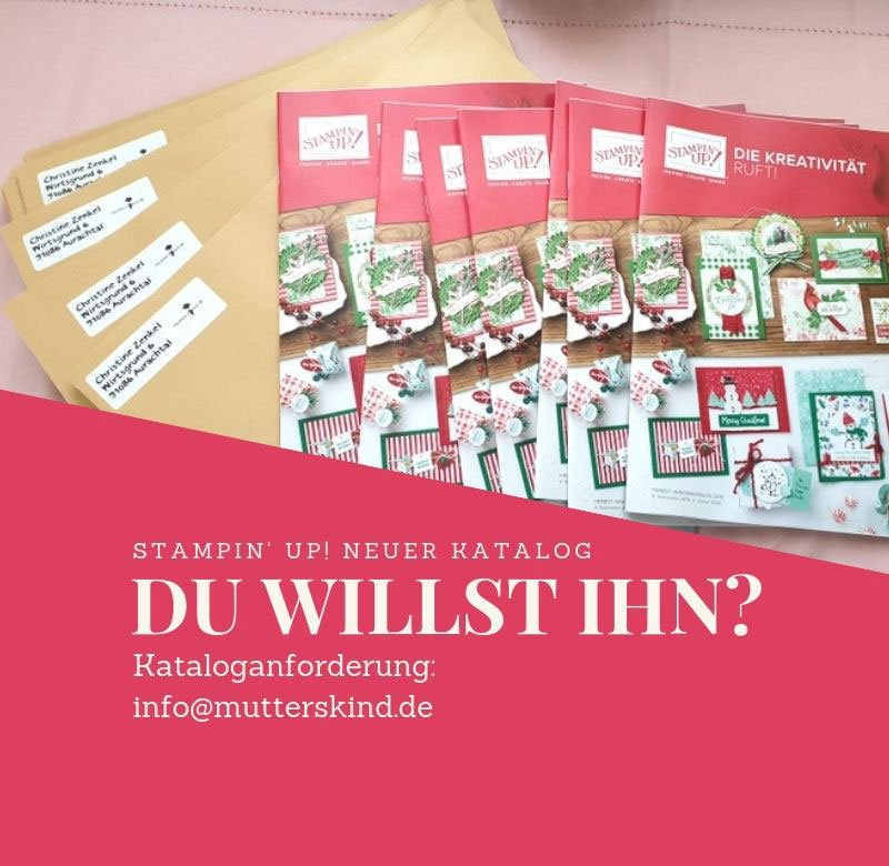 Herbst- Winterkatalog Stampin UP! 2019