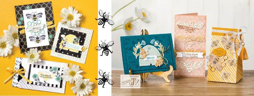 Honey Bee Stempelset