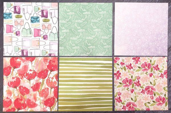 Designerpapier Mit Stil und Klasse
