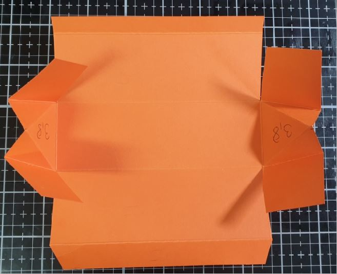 Anleitung Dreiecks-Box