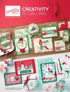 Creativity is calling Stampin UP!