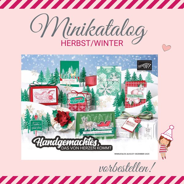 Mini-Katalog Herbst / Winter 2020 Stampin UP!