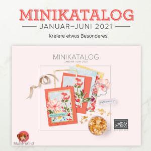 Minikatalog Stampin UP! 2021