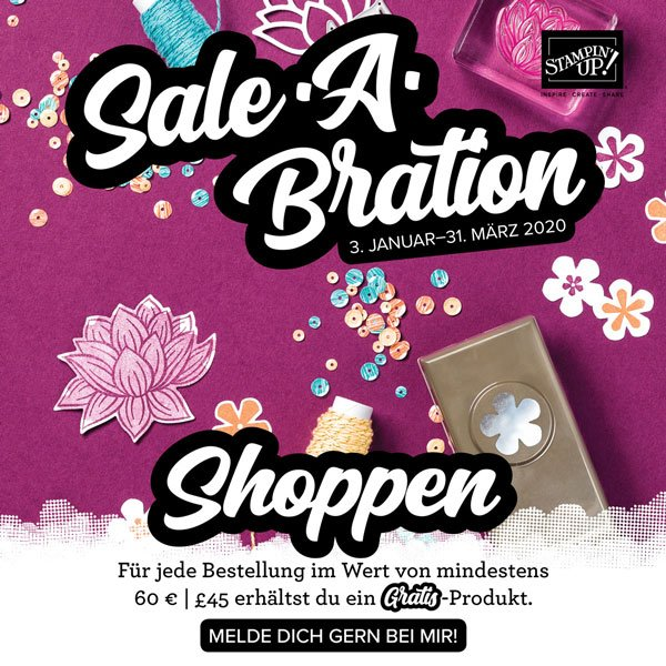Katalogstart shoppen sale a bration stampin Up