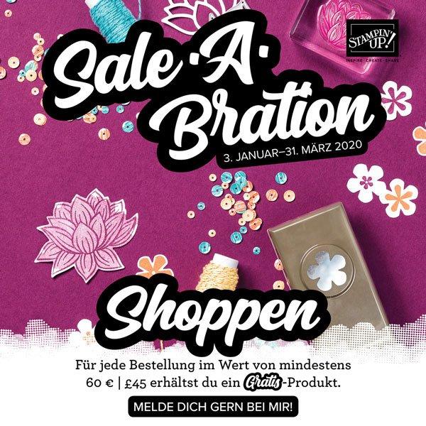 shoppen sale a bration stampin Up